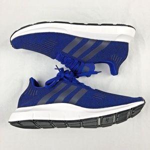 ADIDAS SWIFT RUN Men's Royal Knit Shoes 11 NEW